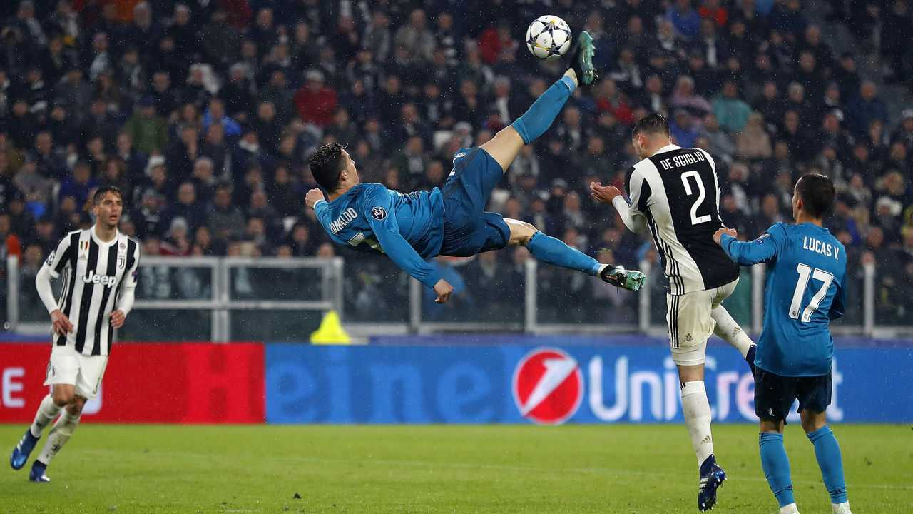 лучший гол Роналду