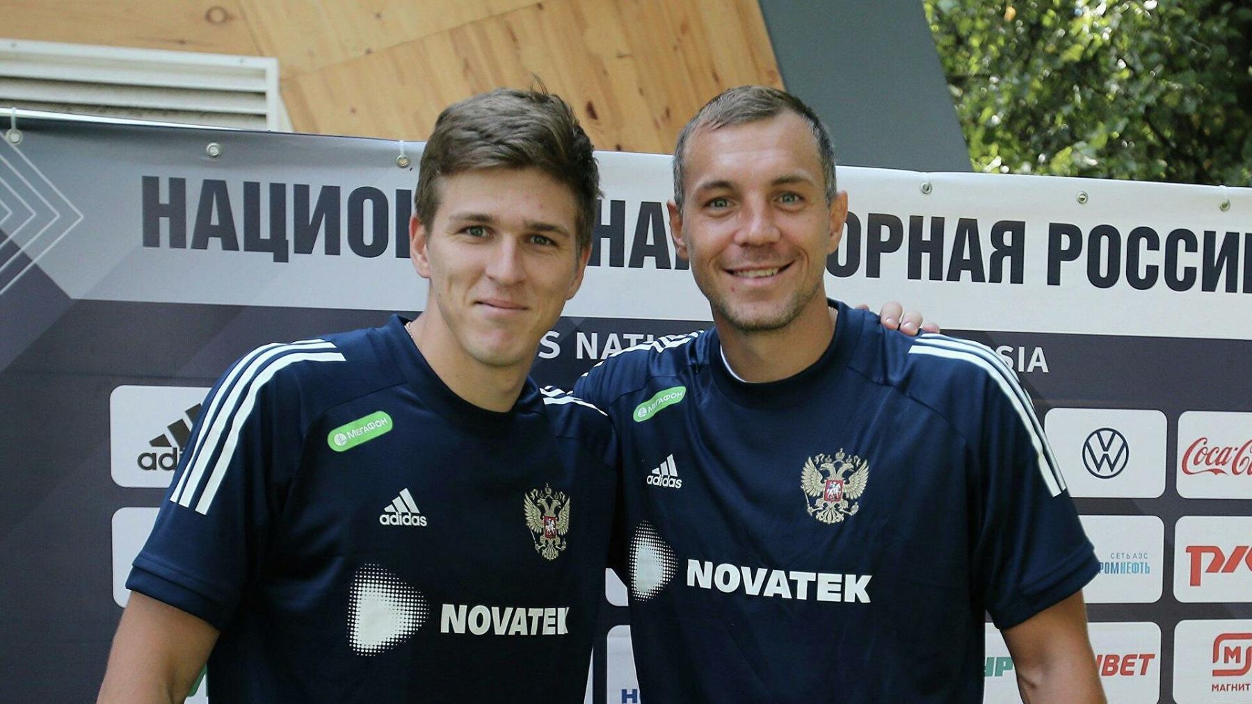 Дзюба и Соболев