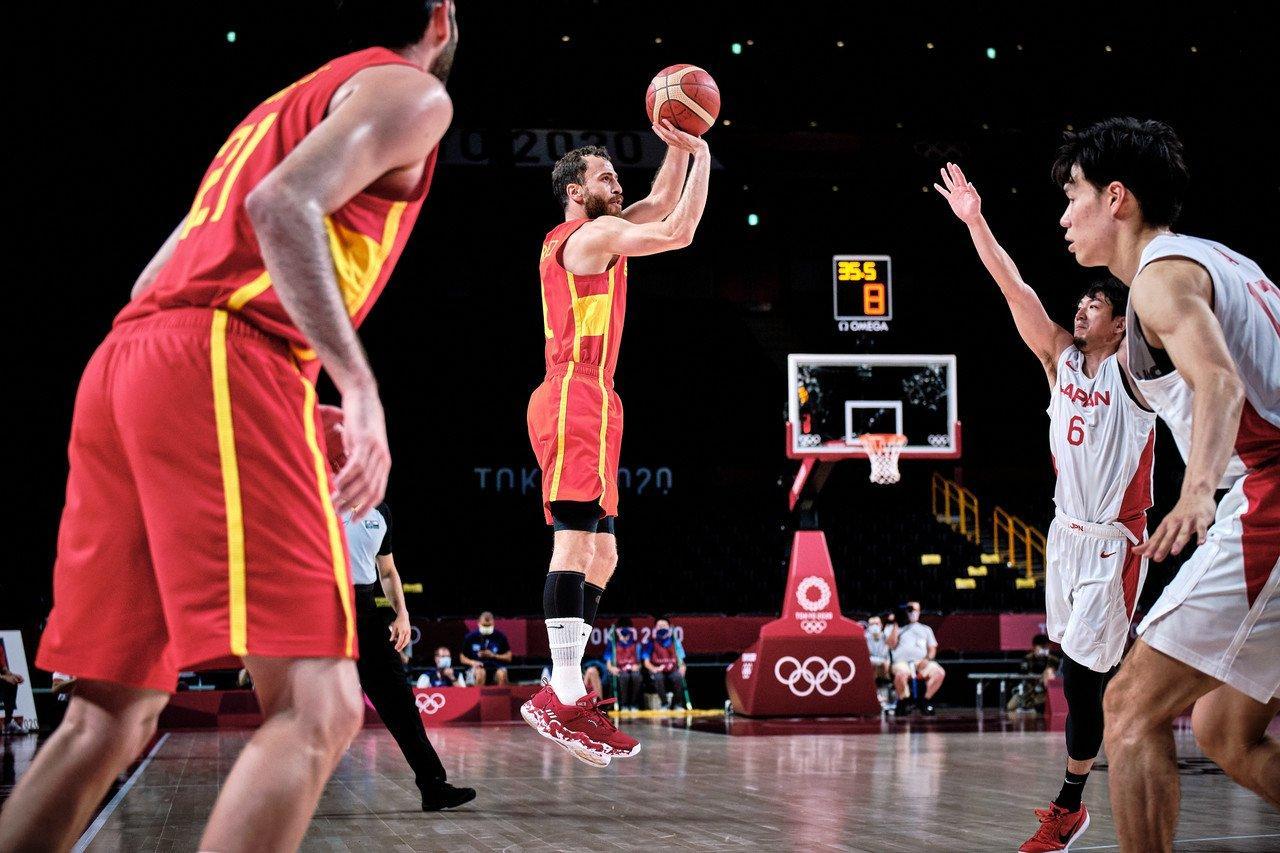 Испания баскет