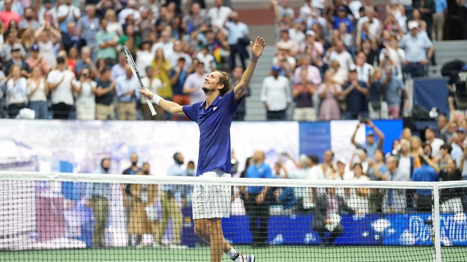 Медведев US Open